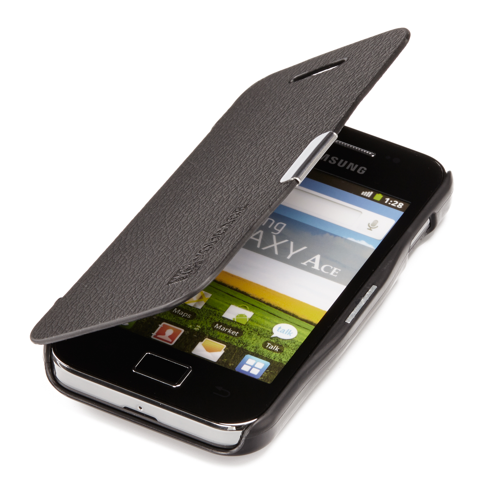handy tasche f r samsung slim flip case schutz h lle etui. Black Bedroom Furniture Sets. Home Design Ideas