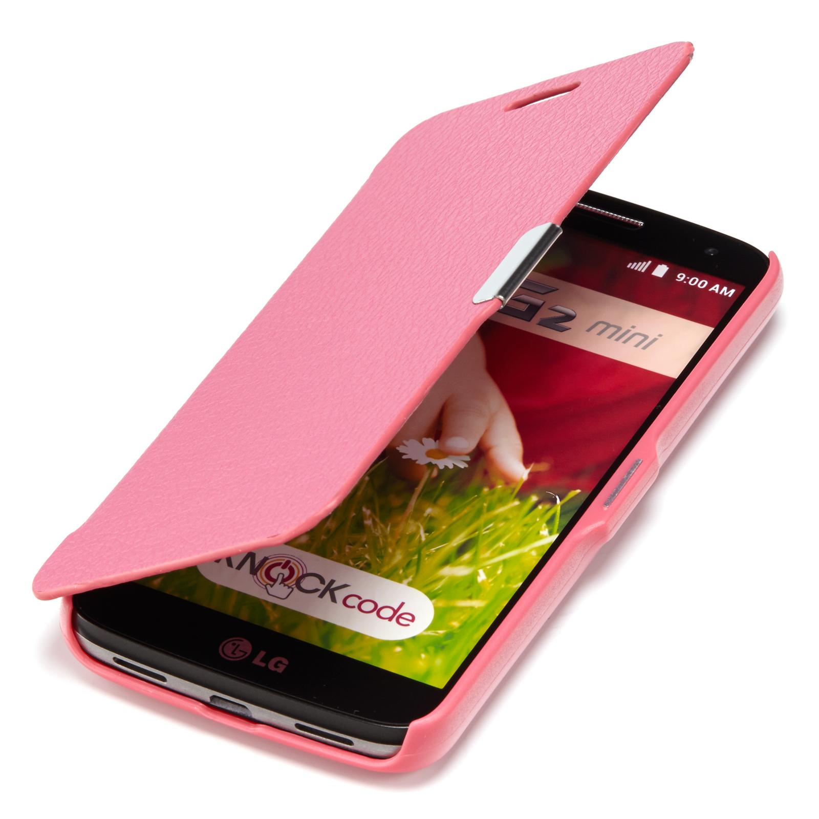 SLIM-FLIP-Case-LG-G2-Mini-Tasche-Handy-Klapp-Schutz-Hulle-Etui-Cover